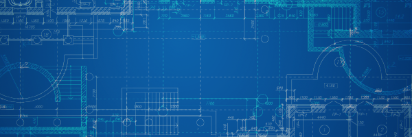Corporate blueprint header